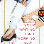 Are you blogging every day but failing to connect with your readers? Your writing isn't working - here's why. Click through to learn how to change your writing today - so you can bring in more readers, more customers, and connect more people to your brand. | brilliantbusinessmoms.com