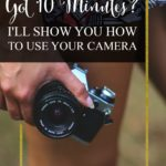 Do you ever find yourself wondering what the heck all those buttons on your camera are for? Click on the post to learn how to use your camera in 10 minutes or less. Great photography tips for beginners. You got this, lady! | brilliantbusinessmoms.com