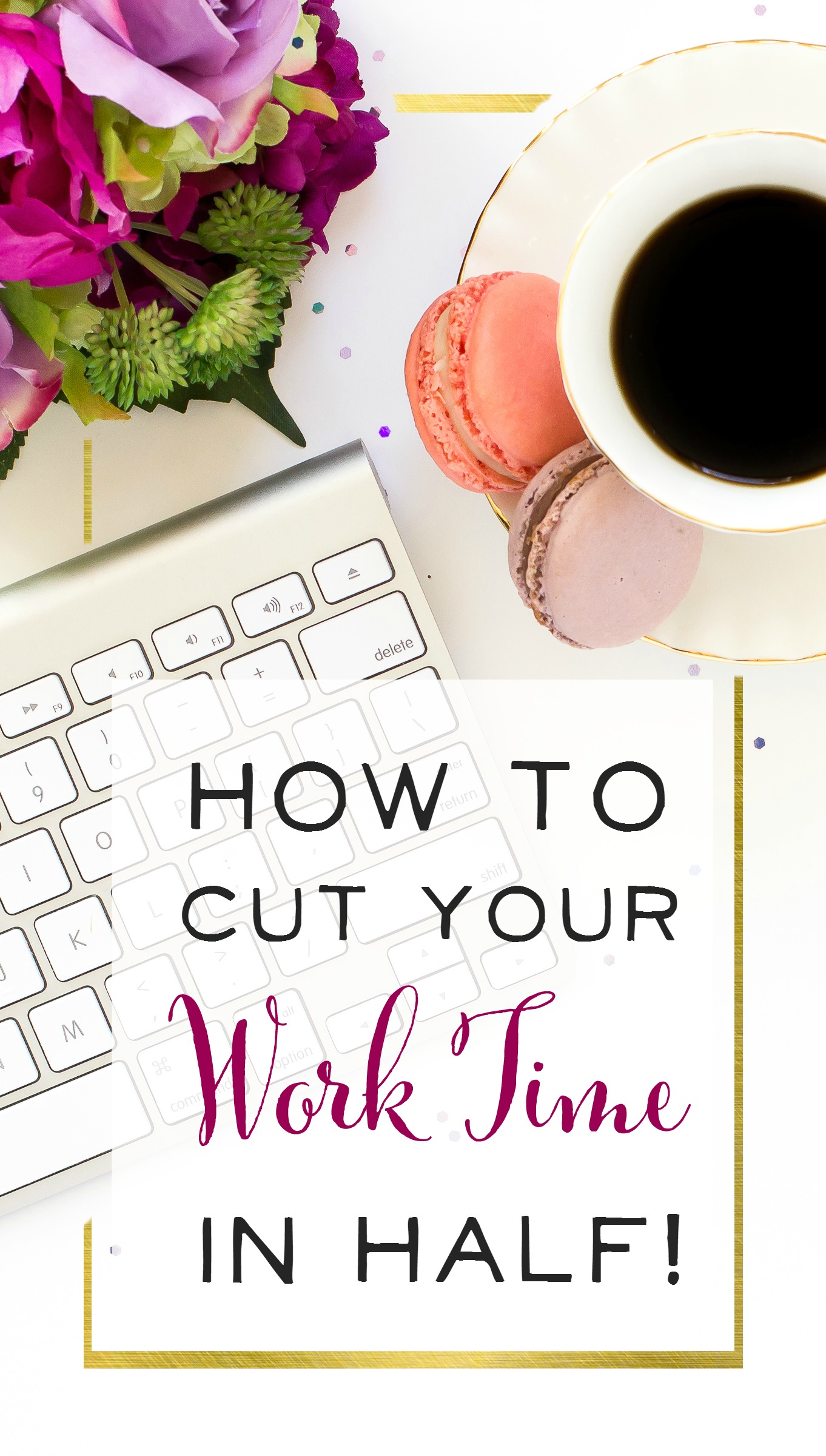 LOVE this post! Finally some realistic time management advice, and I can see how if I practiced this for a month, I could drastically cut down on my work time. | How to Cut your Work Time in Half! Realistic Productivity Secrets for Mamapreneurs
