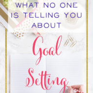 What No One is Telling you About Goal-Setting