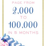 How I grew my Facebook Page from 2,000 to 100,000 in 5 months