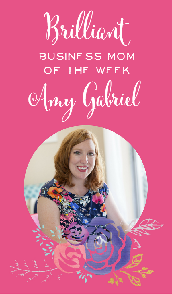 """Amy says her greatest business challenge has been overcoming her mind. """"I've had to quit believing the lies in my head that I can't run a business because I didn't take a business course in college or have a business degree."""