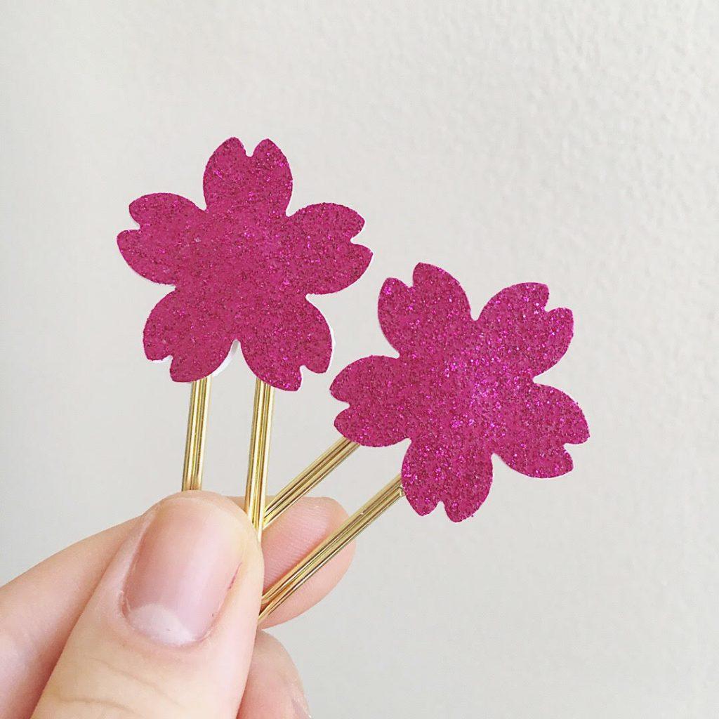 Tokyo Blossom Planner Clips