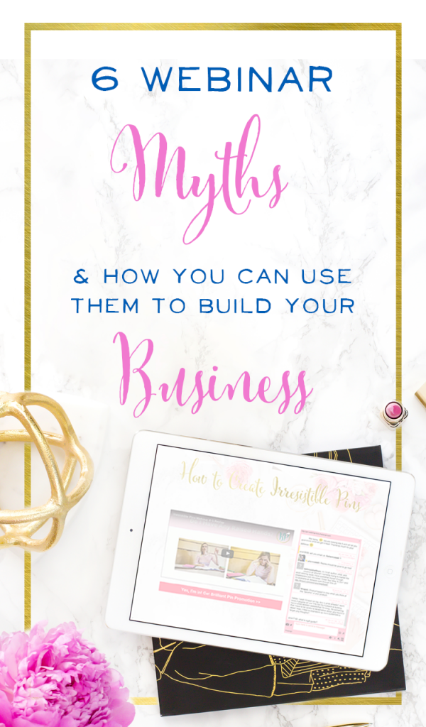 Wow, this these are so powerful - especially myth #4! Can't believe this strategy impacted her sales by that much this year. This is such a great way to connect with customers.