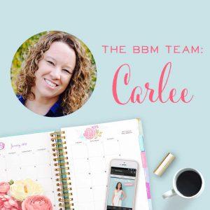 BBM Team: Carlee