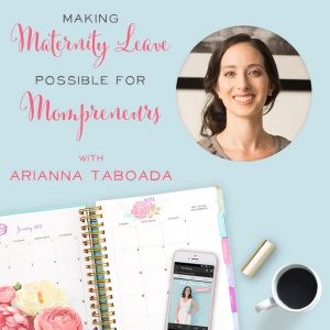 Love these maternity leave tips for mompreneurs! And she has great advice for preventing post-partum depression. | BrilliantBusinessMoms.com