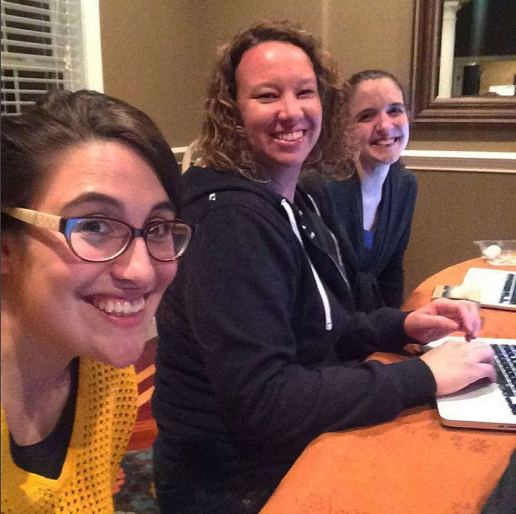 Working as a team of VA's. The good, the funny, the hard, and the very best part of working for the Brilliant Business Moms Team.