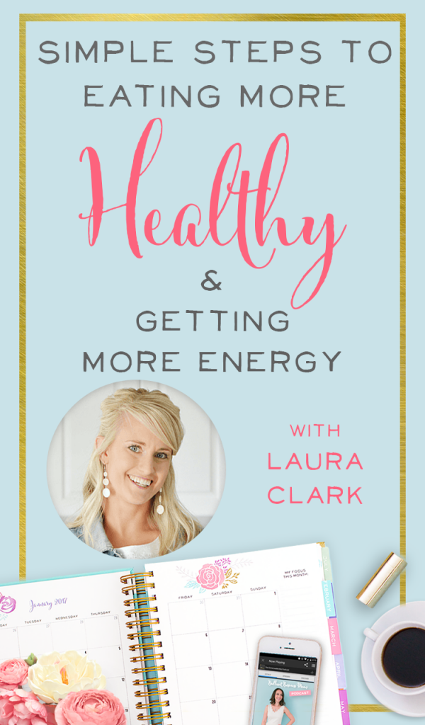 Busy moms and mompreneurs, listen up! It doesn't have to be hard to eat better. Getting healthy and gaining energy can come from small, simple steps.