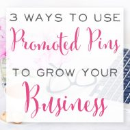 3 Ways to use Promoted Pins to Grow Your Business