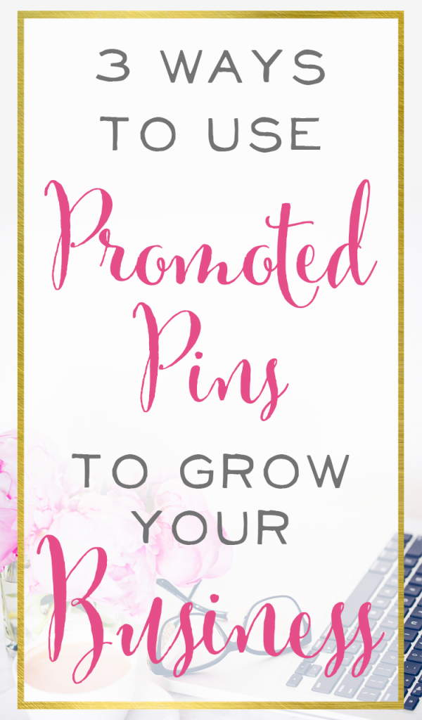 Ready to grow your business? Promoted pins are a tested and proven way to consistently increase your traffic and profits. Which one of these 3 methods will you try first?