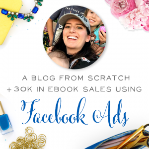 Amazing! LJ went from no business to $35,000 in ebook sales in just months! And she used Facebook ads to market her ebook and make those sales.