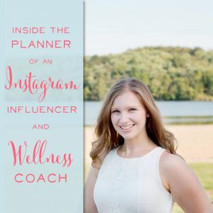 I love how this Instagram Influencer and Wellness Coach uses her planner to keep a healthy balance as a work at home mom!