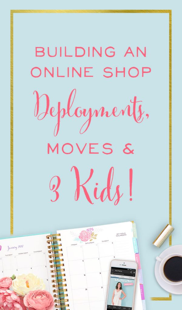 Building an Online Shop with Deployments, Moves, & 3 Kids!