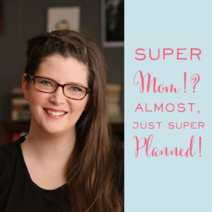 Wow! This amazing mom and business owner's life is about a busy as they get. But her planner hacks, planning system, and focused work time make her the closest thing to super mom I know!
