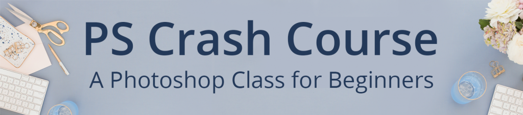 Ready for more fabulous Photoshop templates plus all the skills and tools you need? Grab PS Crash Course!