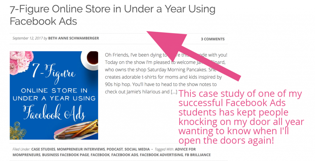 Use case studies in your blog to showcase your happy customers