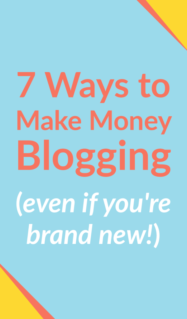 You can make money blogging even if you're brand new!