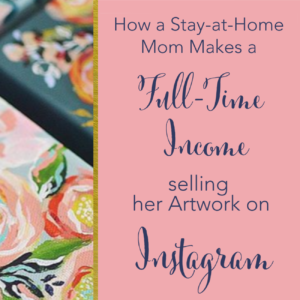 Learn how Artist Annie Quigley takes baby steps every single day to build her business. No excuses brilliant mama! Annie built her successful online art business during naptime! She also dishes on her Instagram strategies for growth! Click to hear Annie's story and to learn how you can start your online business in the margins too.