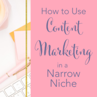 How to Use Content Marketing in a Narrow Niche with Interior Designer Medina King