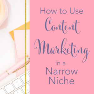 """Learn how to use Content Marketing for your business, even if you don't think of yourself as a """"blogger"""". Creating helpful, exciting blog posts that show off your expertise can be an incredible way to earn more customers as a service-based business owner. You don't want to miss this encouraging interview with Interior Designer, Medina King."""