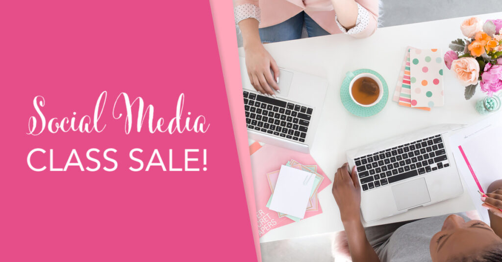 How to Be Brilliant on Social Media Class Sale
