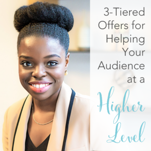 Using a 3-tiered offer to serve your audience at a higher level with Jenelle Augustin of StartyourBoutique.com Learn how Jenelle is using her brilliant offers and funnels to scale her business with ads.