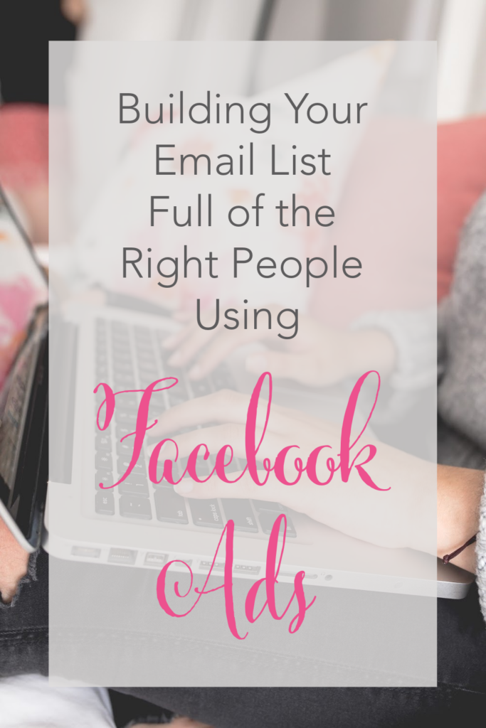 On this latest podcast episode, Beth Anne talks with JoAnn Crohn of NoGuiltMom.com about building email lists and using Facebook Ads to do it!