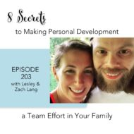 8 Secrets to Making Personal Development a Team Effort in your Family