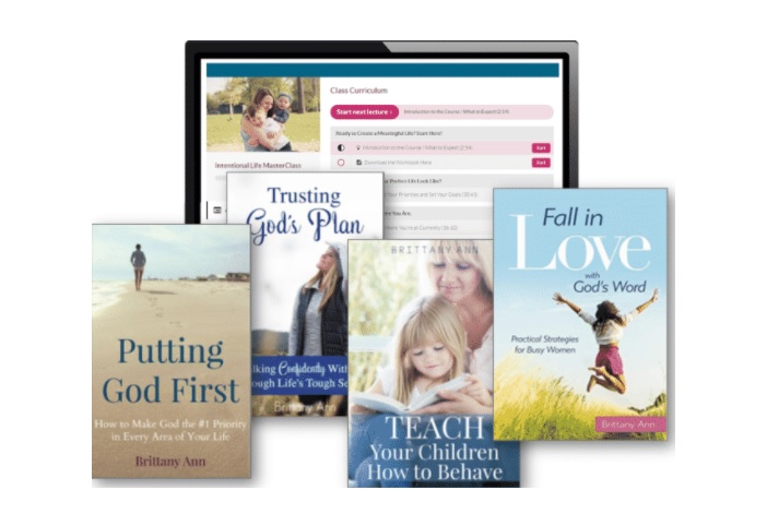 Books and courses written by Brittany of Equipping Godly Women